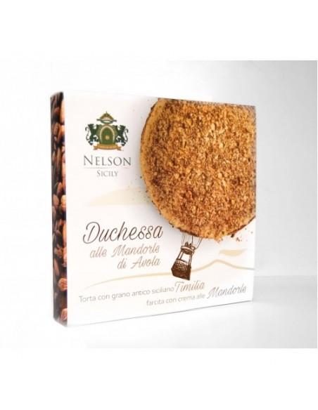 Duchessa alle mandorle con grano antico siciliano Timilia 500 gr