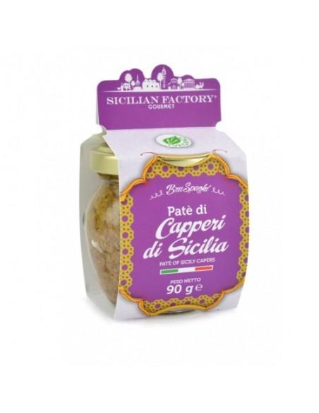 Bruspaghi Patè di Capperi di Sicilia SENZA GLUTINE 90 gr
