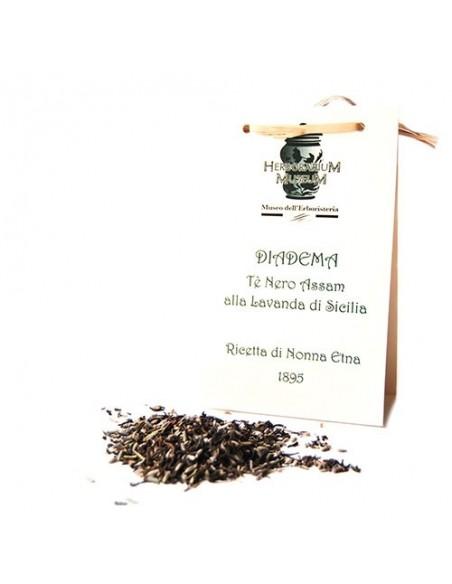Diadema Tè nero Assam alla lavanda di Sicilia 50 gr Il Misterioso
