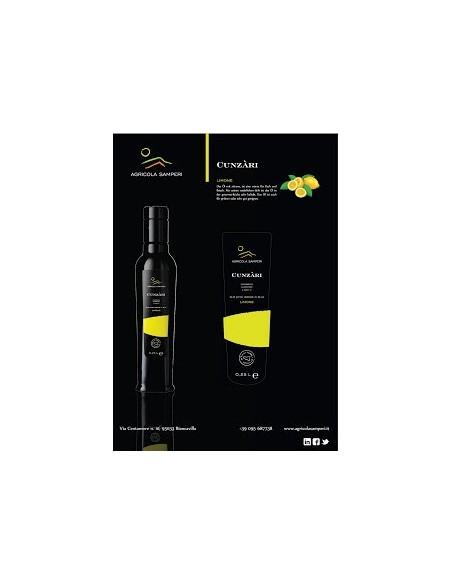 Cunzàri olio al limone 0,25 L