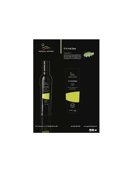 Cunzàri olio al rosmarino 0,25 L