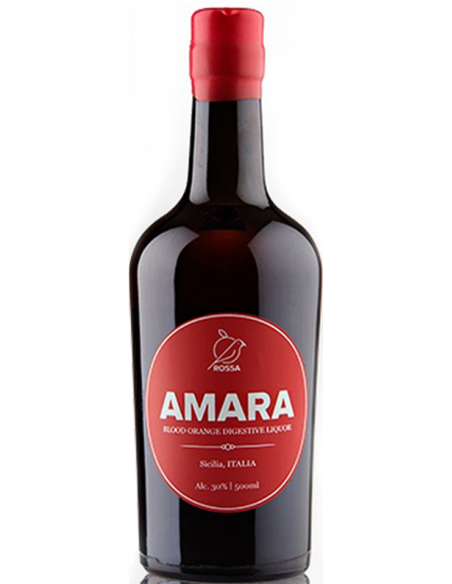 Amara amaro d'arancia rossa 30% 1,50 lt