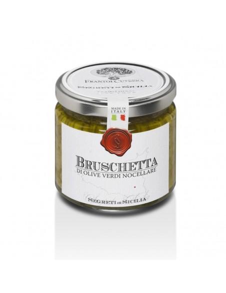 Bruschetta di olive verdi Nocellara 190 gr