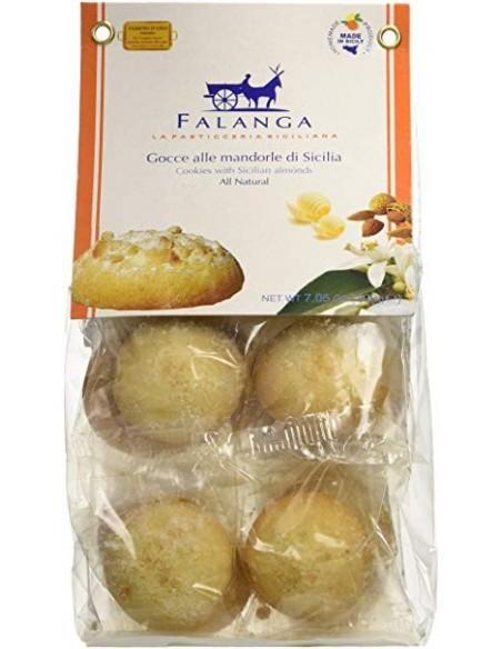Gocce alla mandorla di Sicilia in sacchetto 200 gr