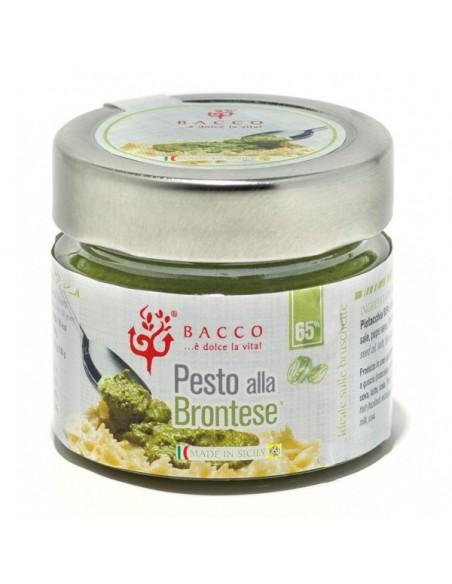 Pesto alla Brontese 65% in olio di semi 90 gr