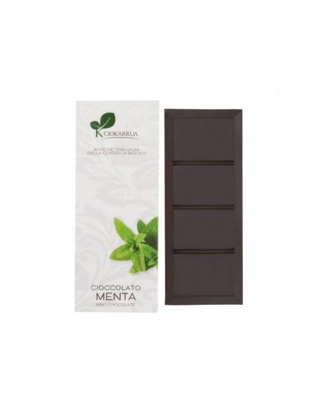 Cioccolato di Modica alla Menta 100 gr