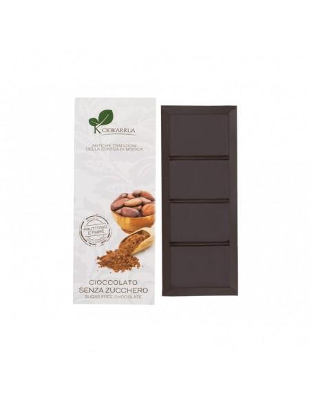 Cioccolato di Modica senza zuccheri aggiunti 100 gr